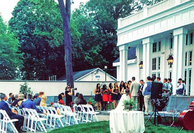 Event planning career: example of a wedding reception